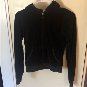 Juicy Couture Zip up Hooded Sweatshirt